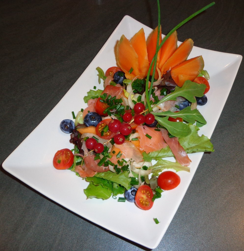 recette salade académie cuisine