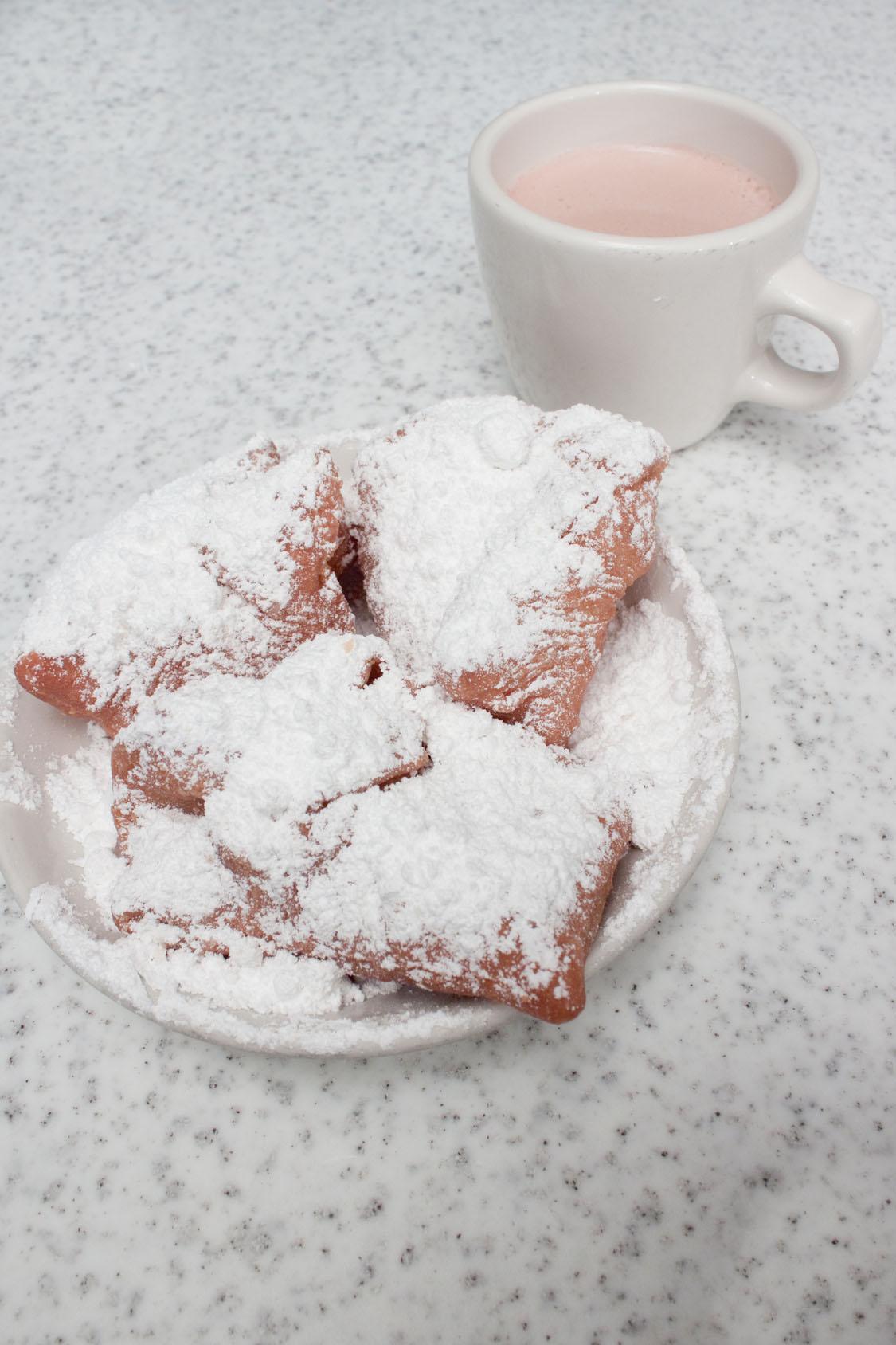 Les beignets français de la Nouvelle Orléans enchantent Mardi Gras !
