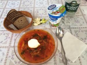recette bortsch soupe russie