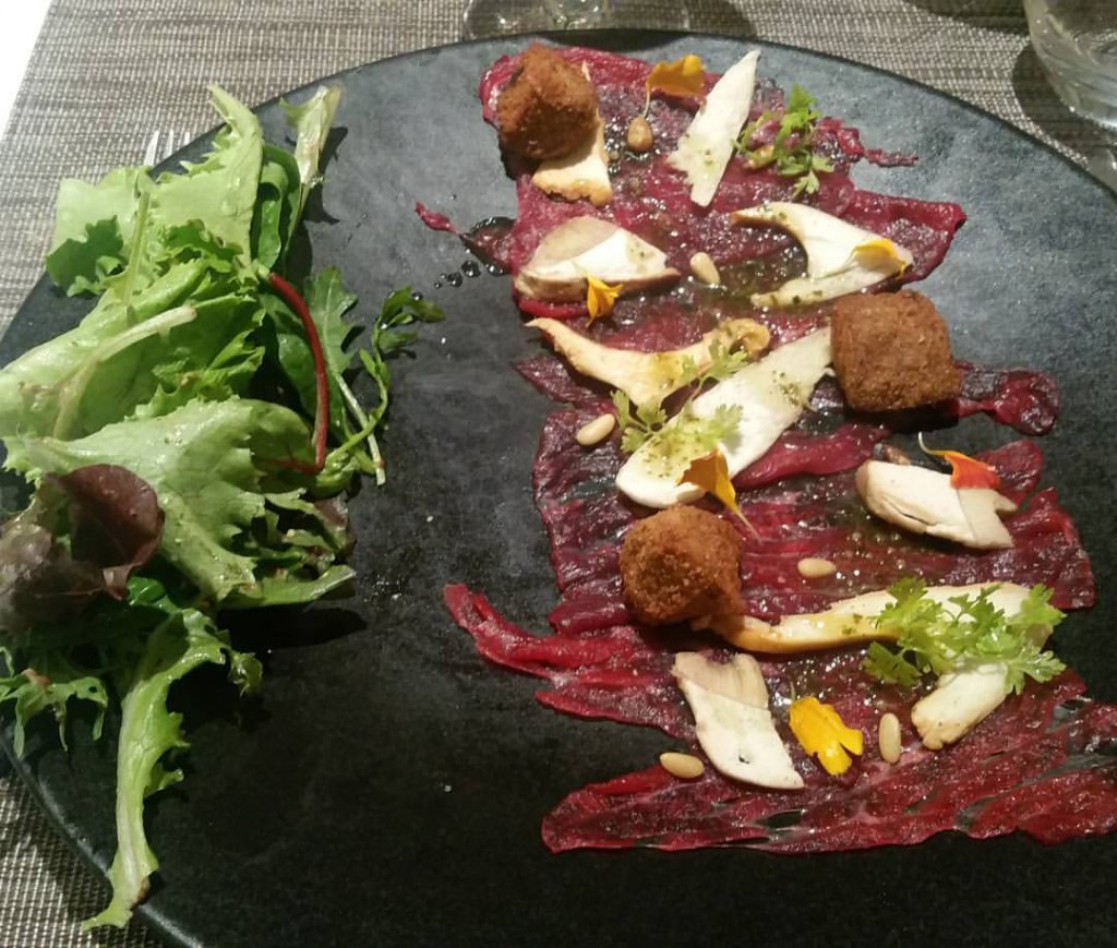 carpaccio taureau table du roy salon