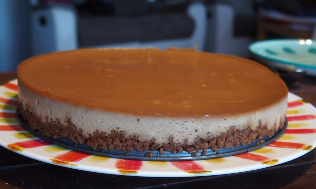 recette cheesecake speculoos