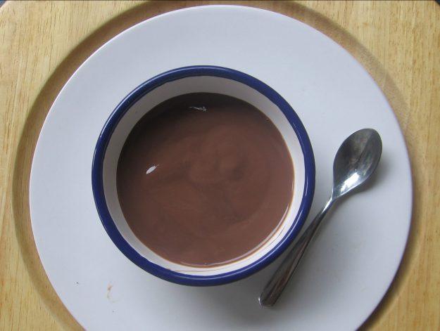 Crème de bananes mûres au chocolat