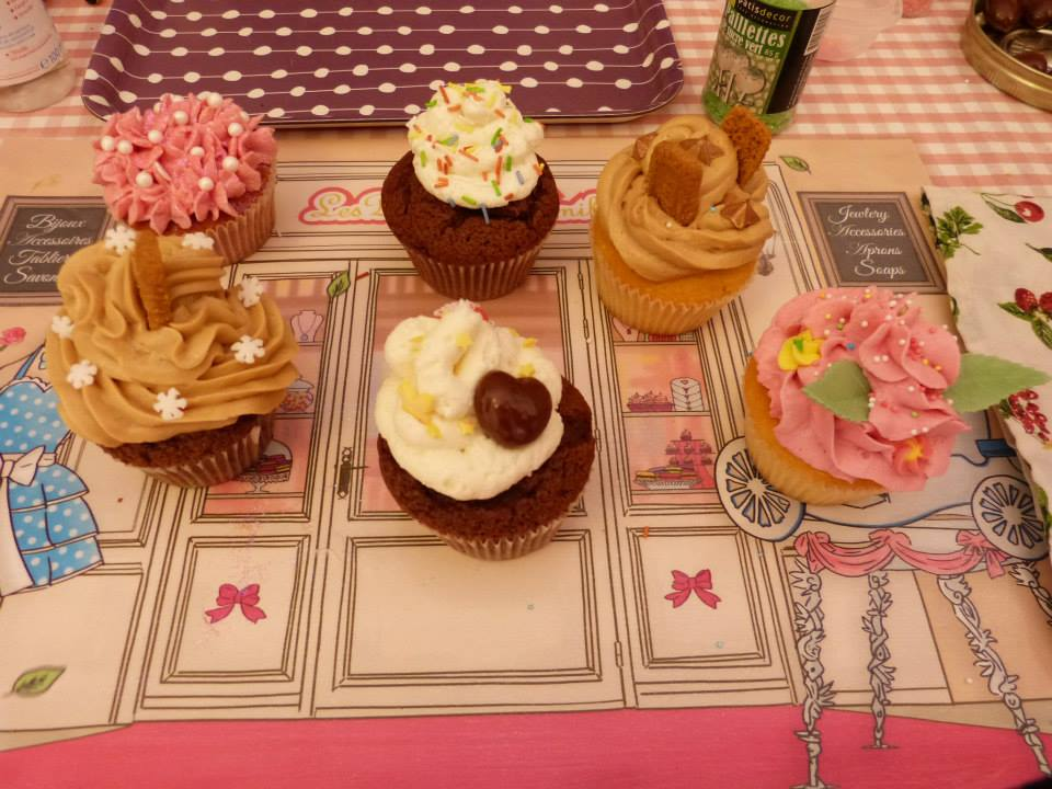 recette cupcake framboise