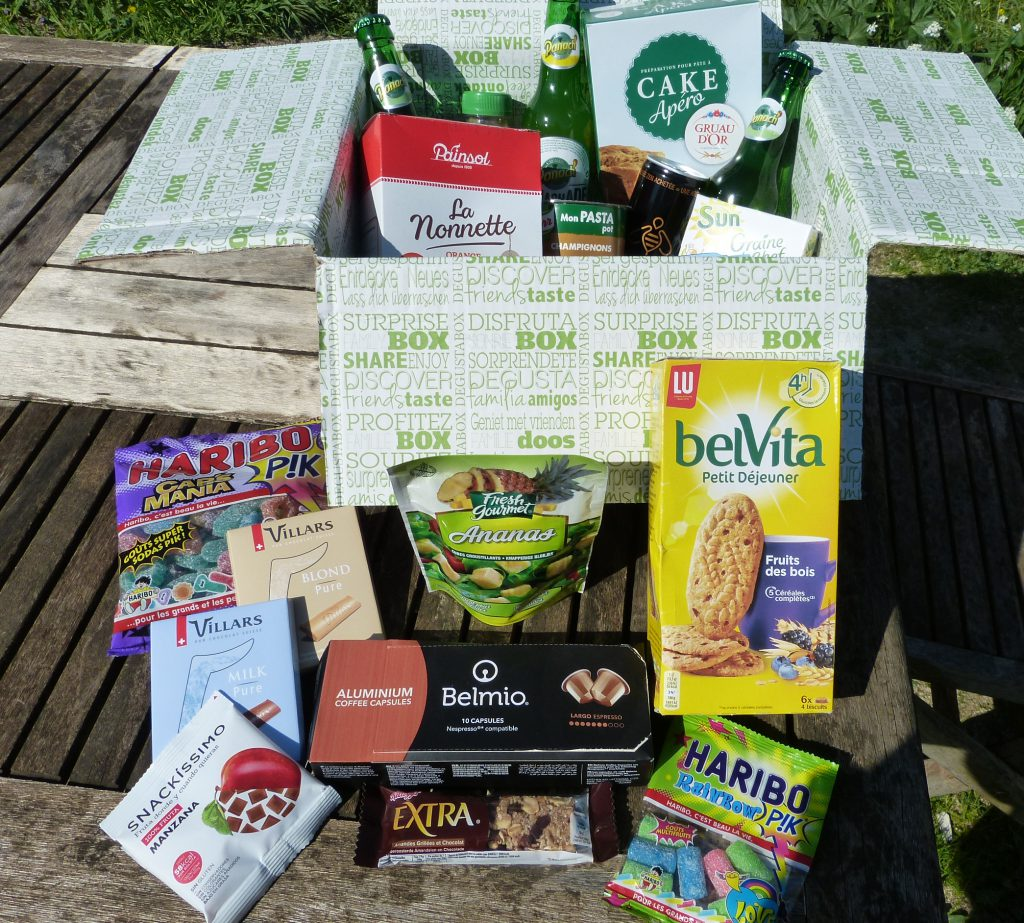 Degustabox avis foodbox