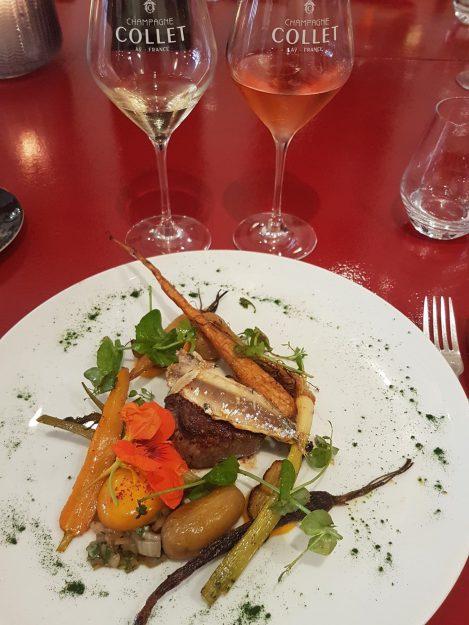 Déjeuner Jean-Luc Rabanel X Champagne Collet