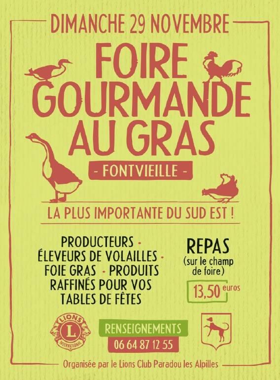 foire au gras 2015