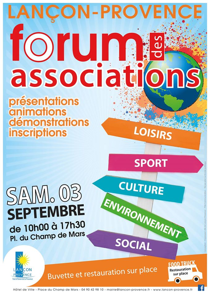 forum association lancon 2016