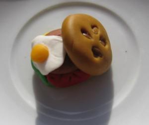hamburger pate sucre