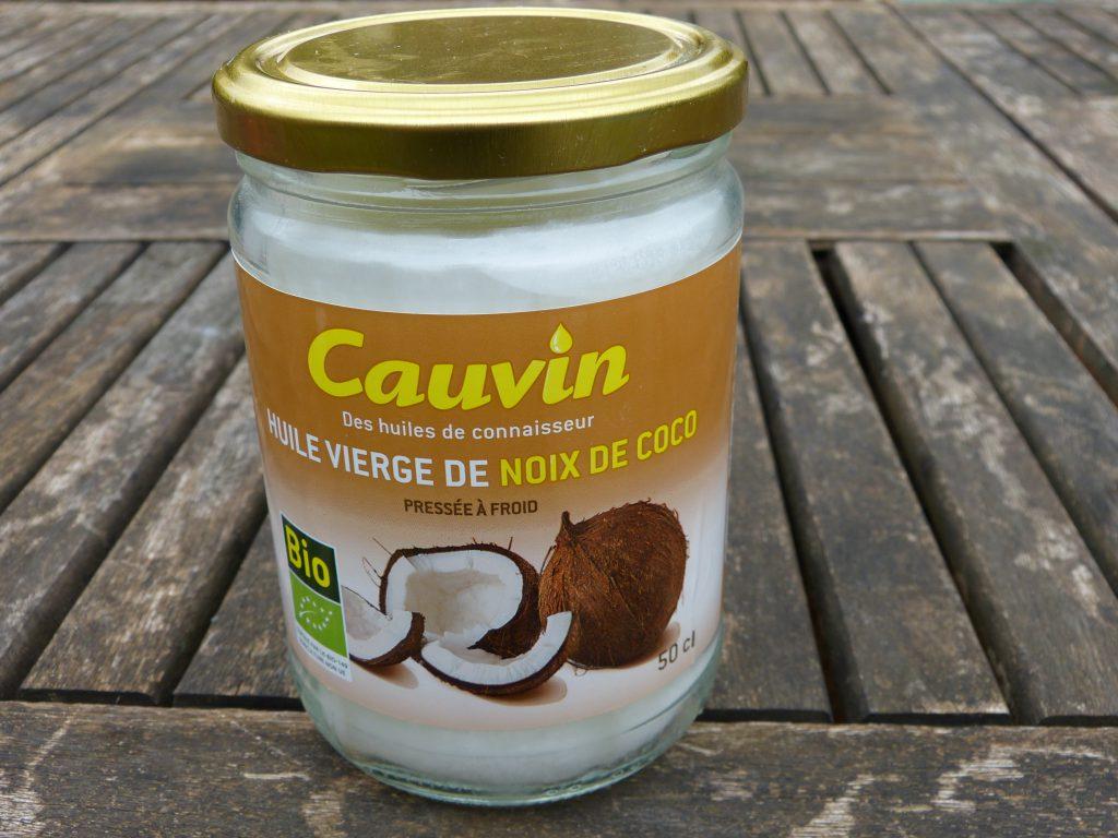 huile de noix de coco cauvin