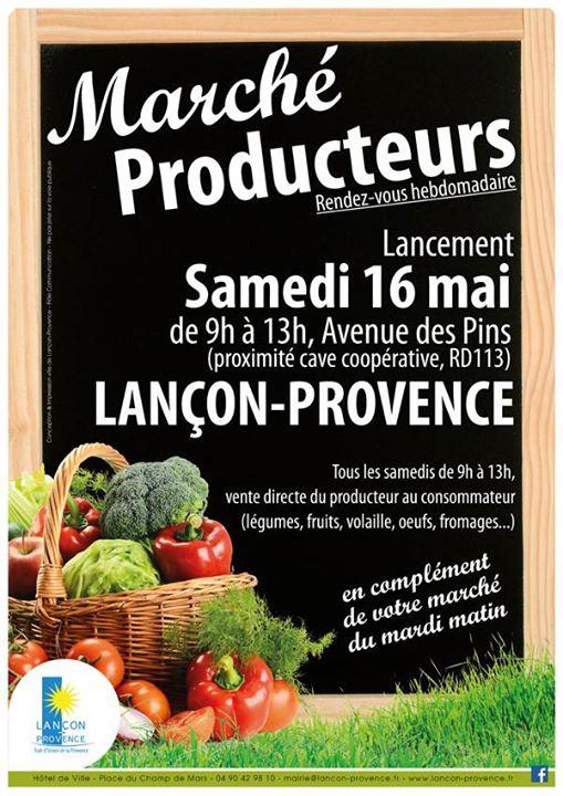 marché producteurs lancon