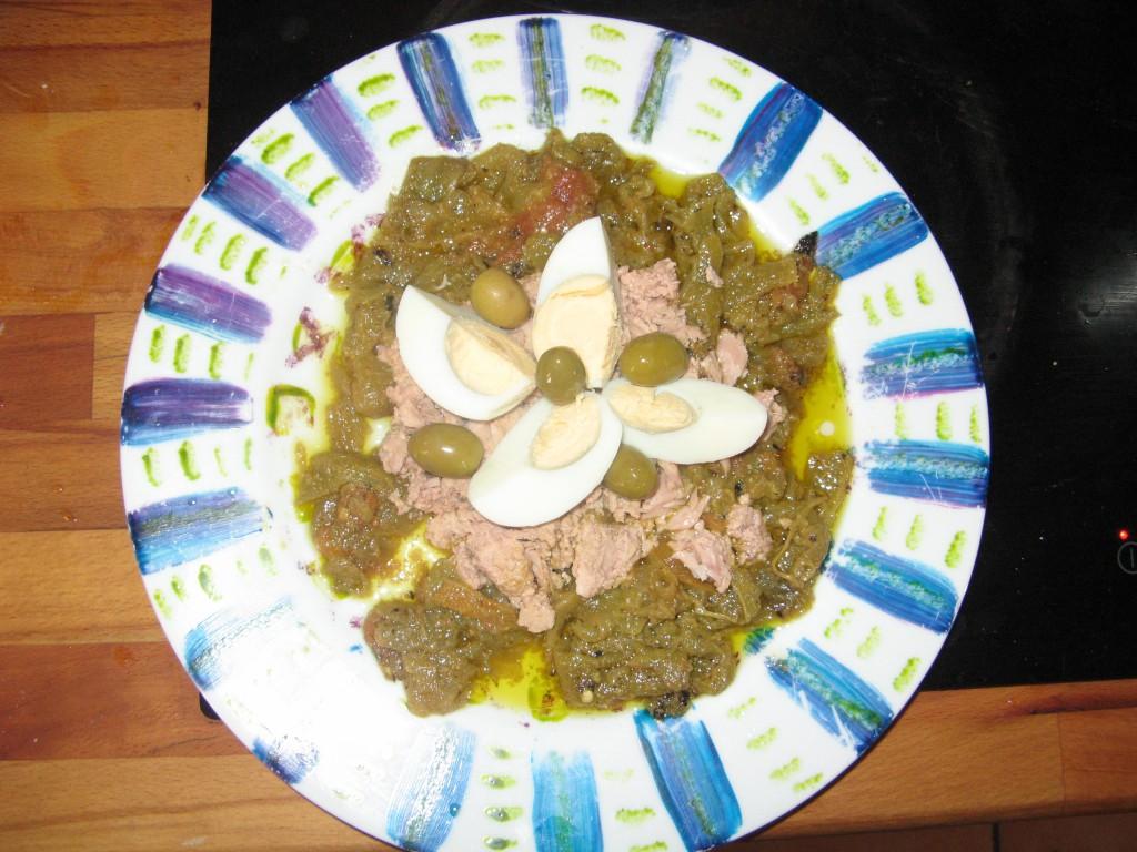 mechouia recette salade
