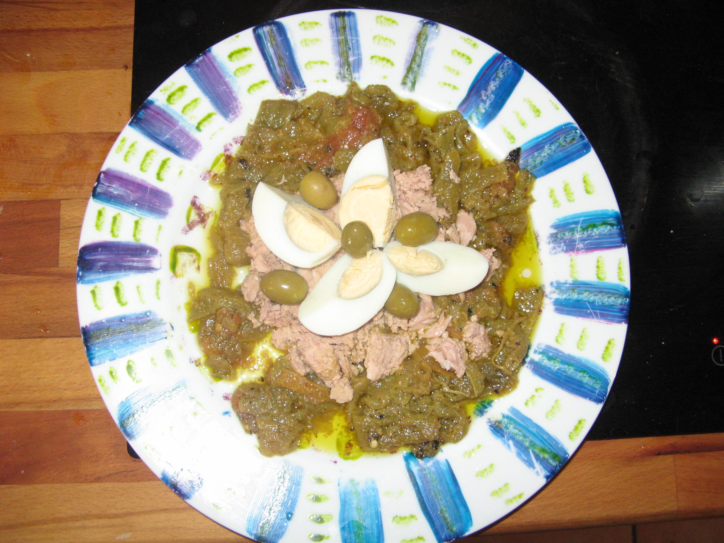 La salade méchouia, mon péché mignon