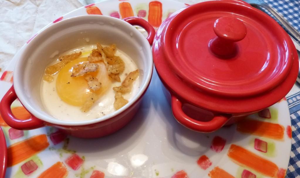 oeuf cocotte raifort recette
