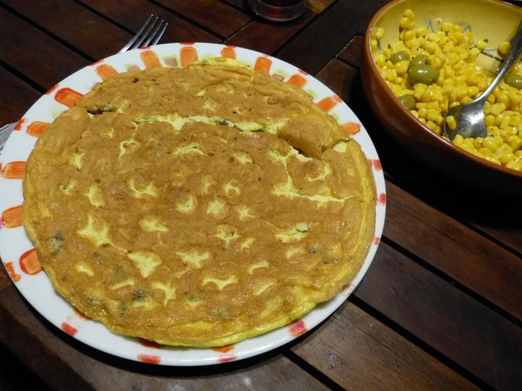 omelette roquefort 2