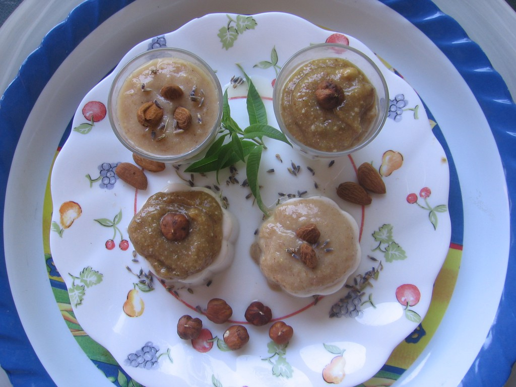 panna cotta figues