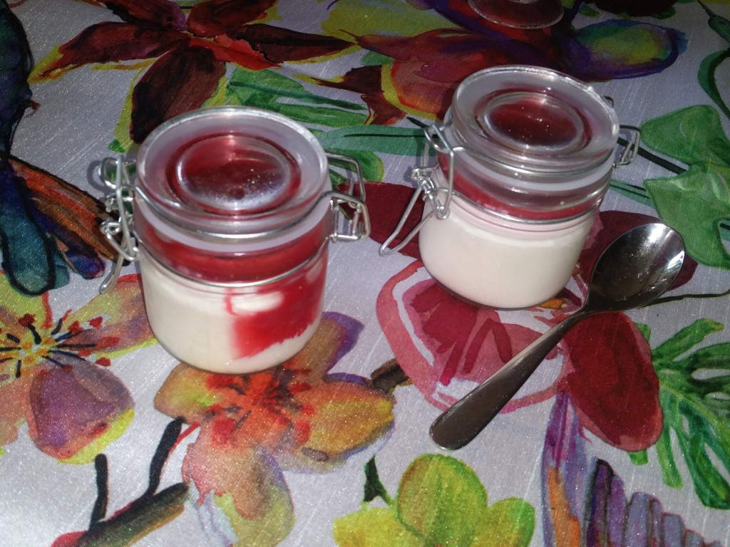 panna cotta recette vanille