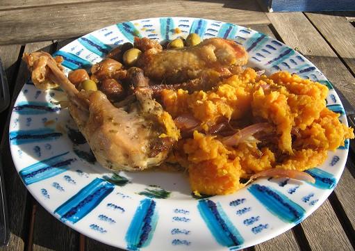 poulet figue recette