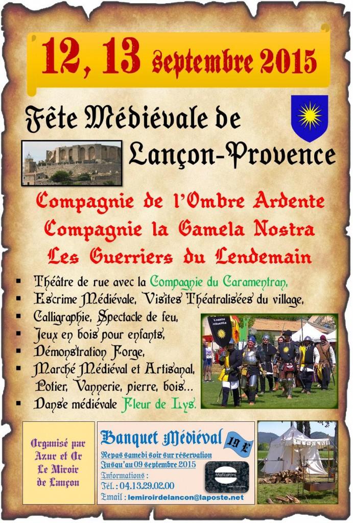 programme fete medieval