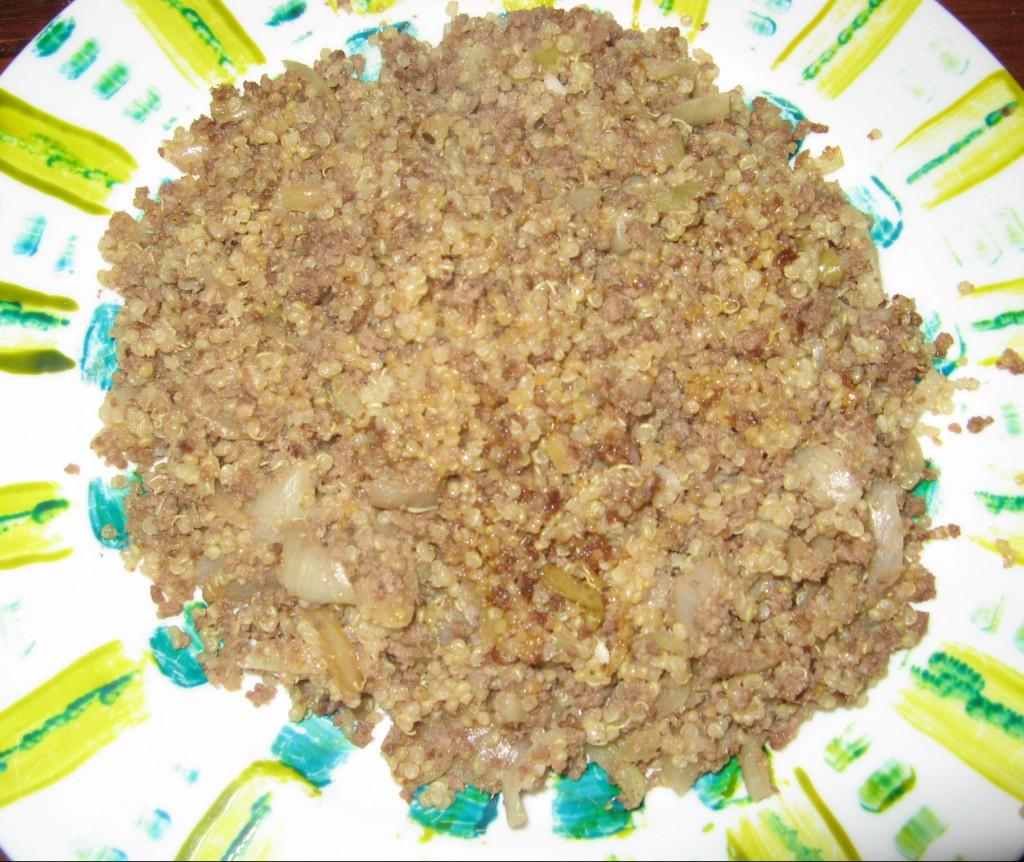quinoa oignon