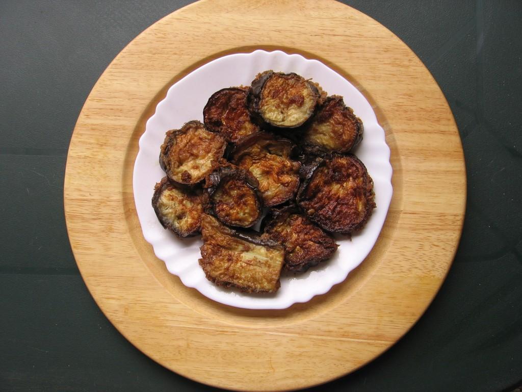 recette beignets aubergines