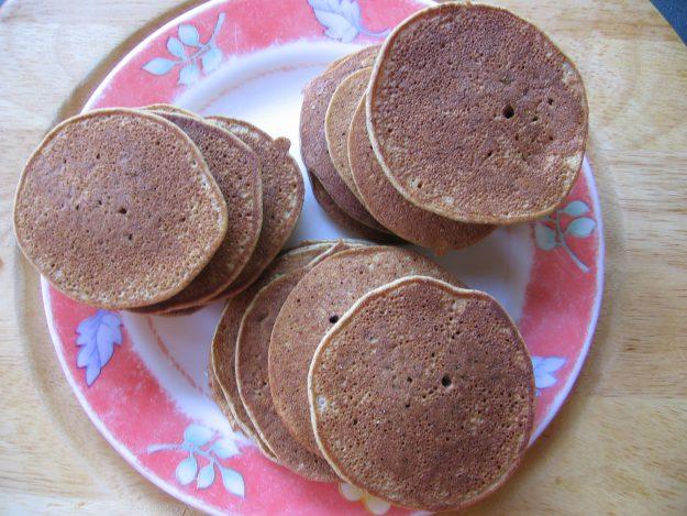 Des blinis moelleux sans gluten et sans lactose