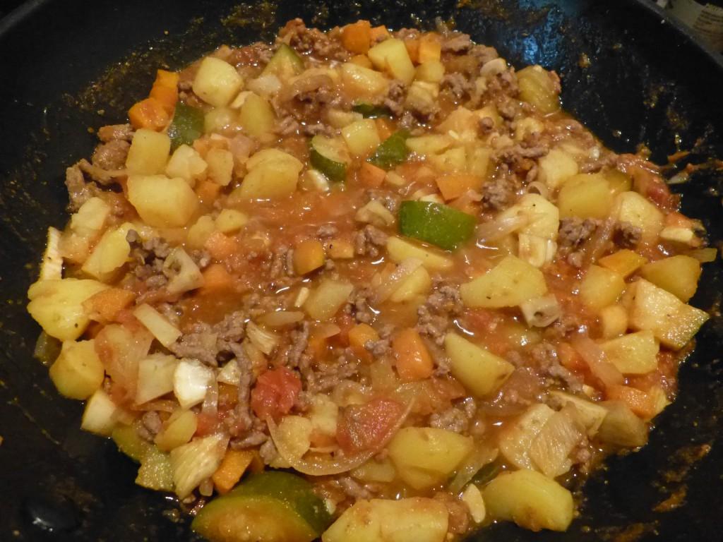 recette boeuf epice legumes