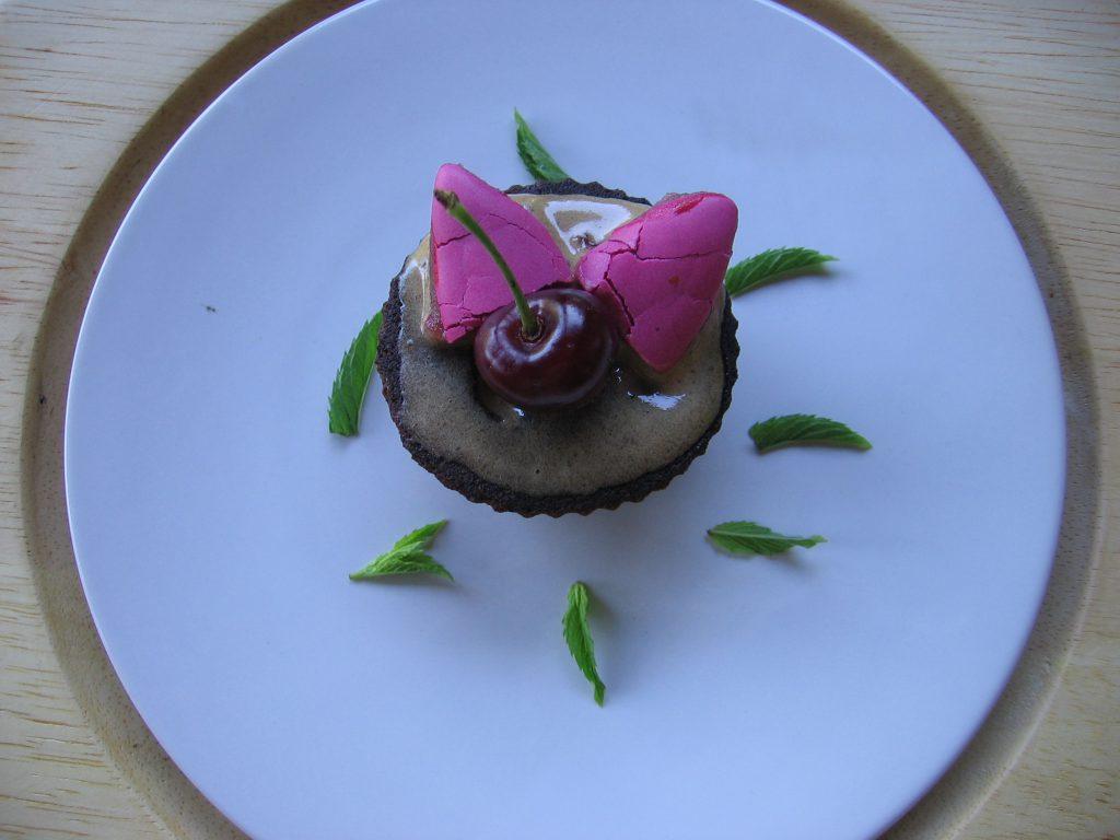 recette cupcake calissons cerise
