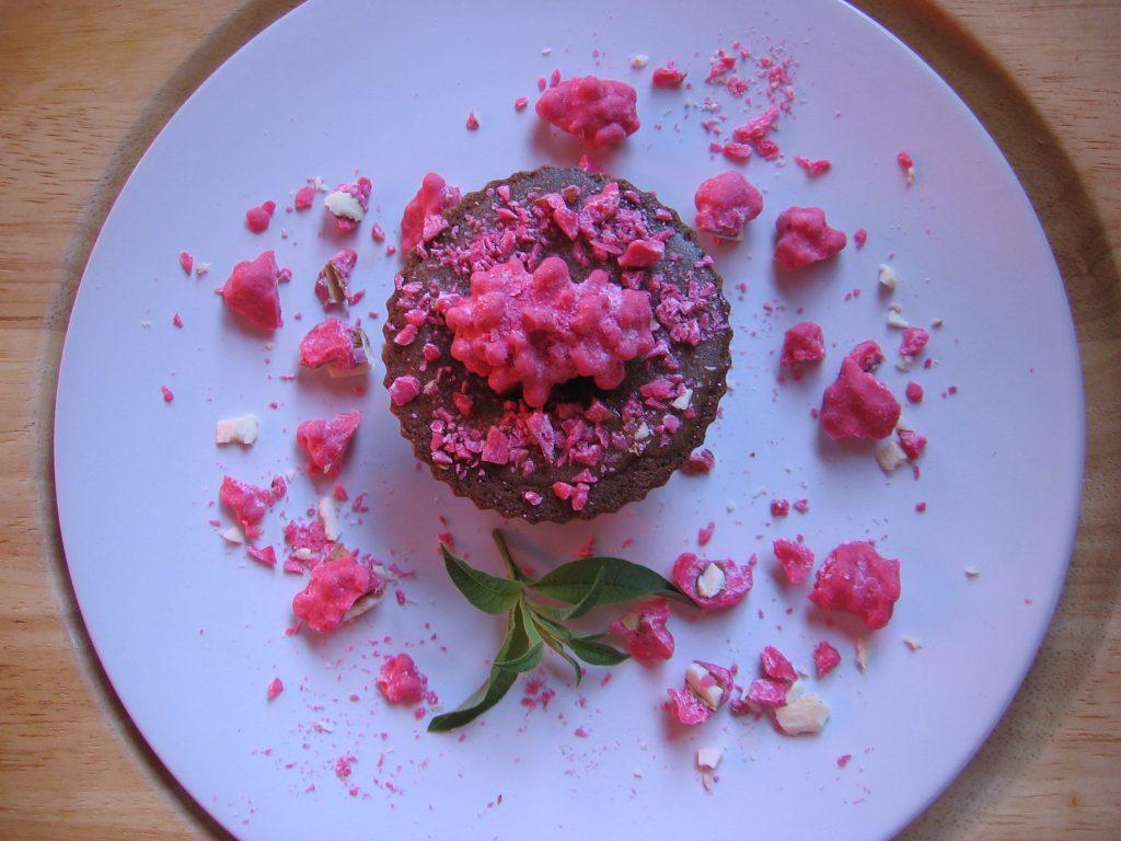 recette pralines roses cupcake