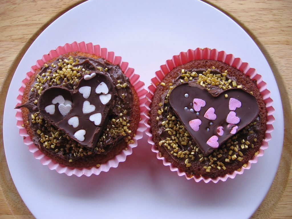 recette cupcakes saint valentin