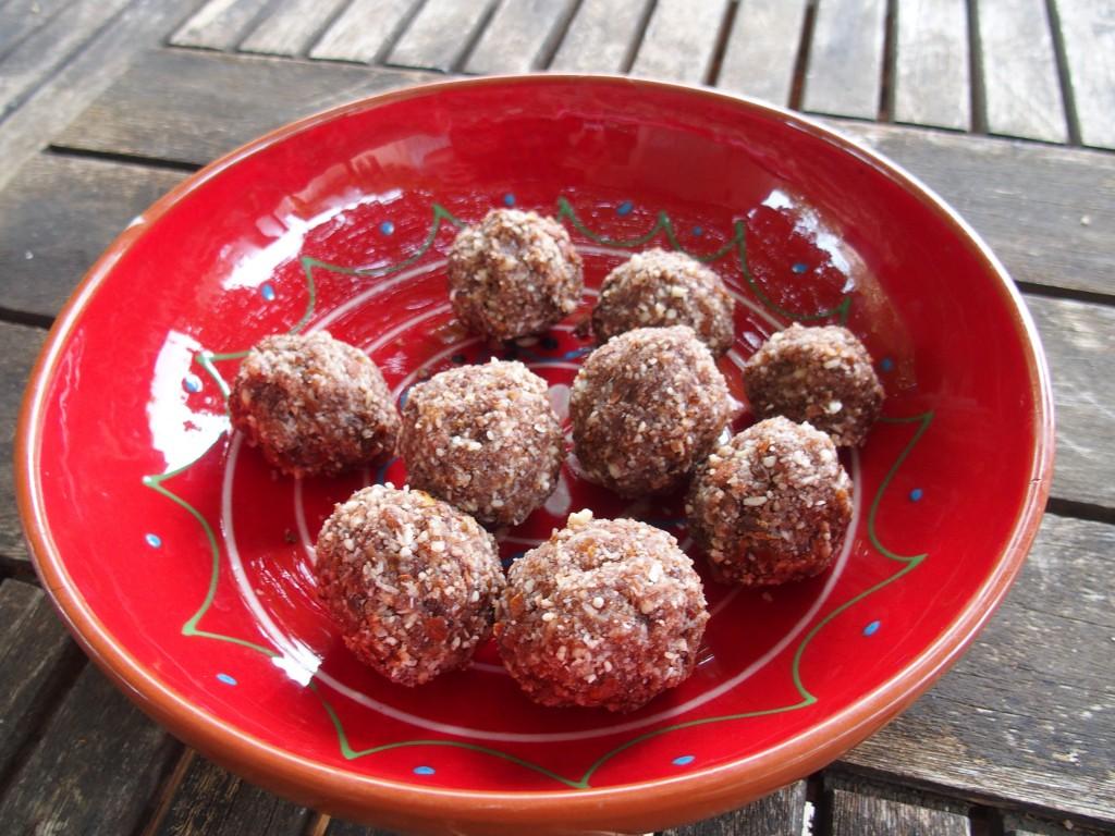 recette energy balls chocolat noix coco