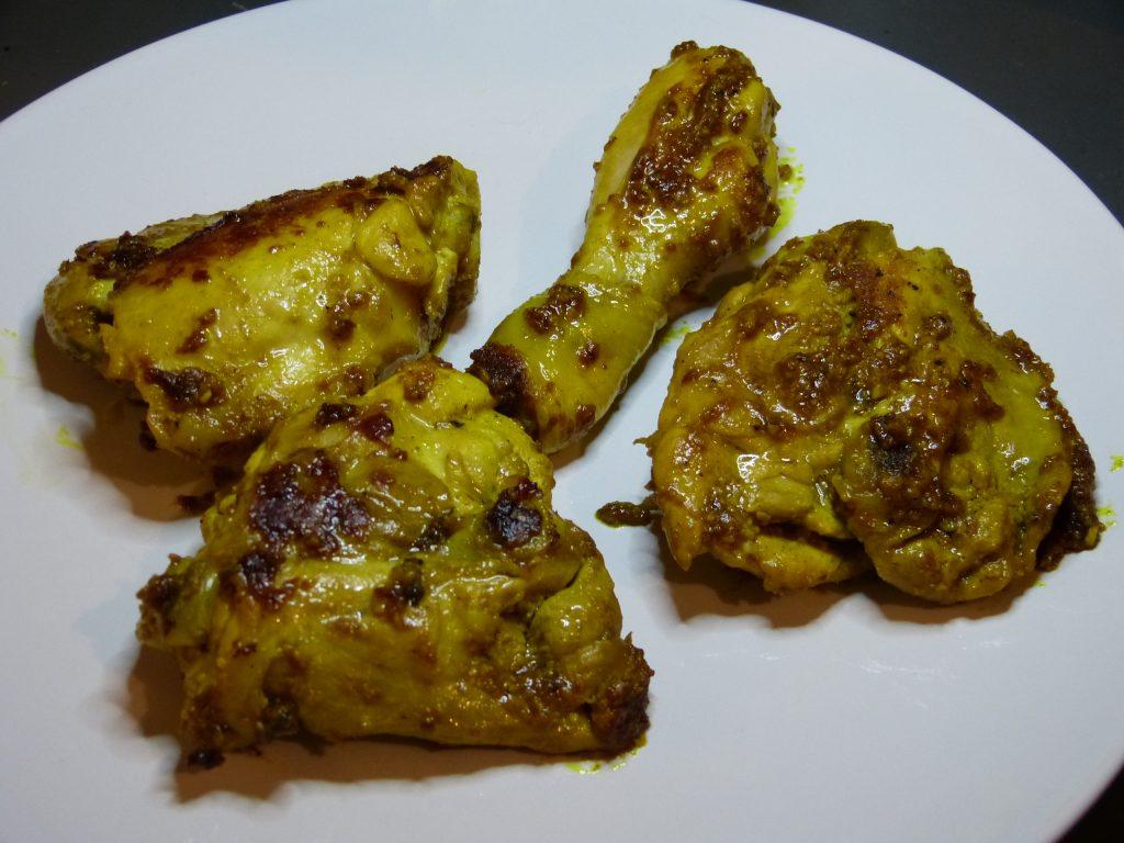 recette poulet epices asie