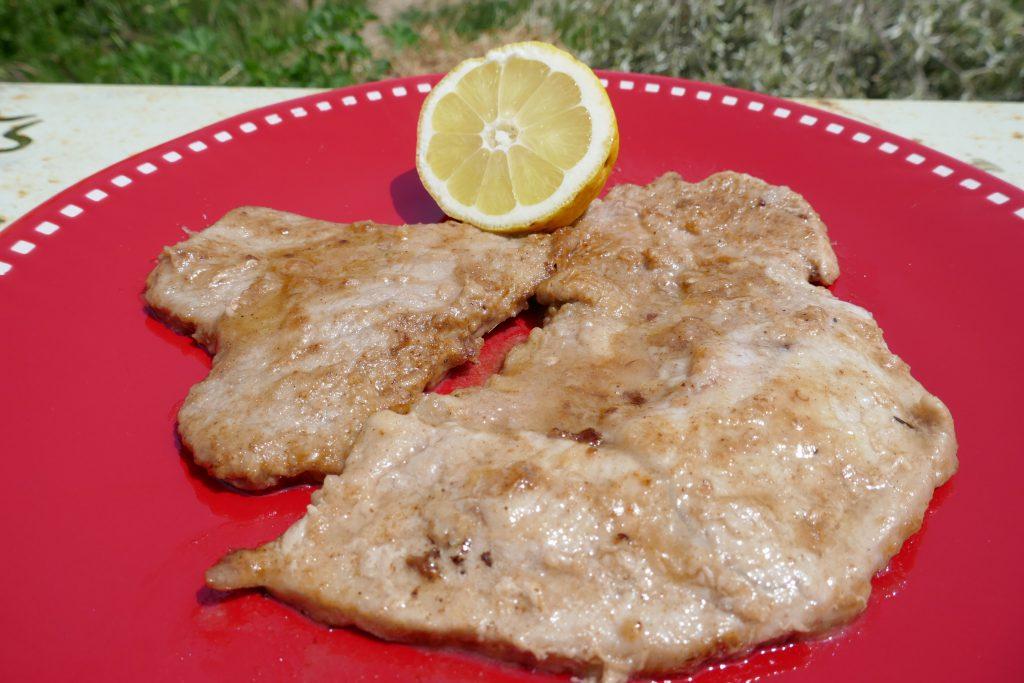 recette escalopes veau citron
