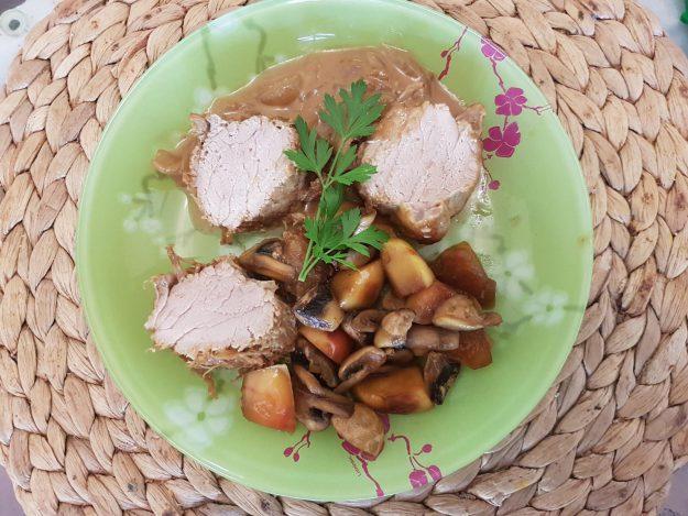 Filet mignon de porc fermier au cidre