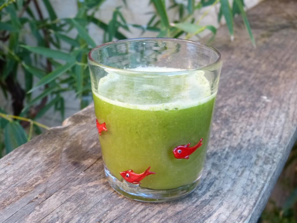 recette jus vert extracteur epinard