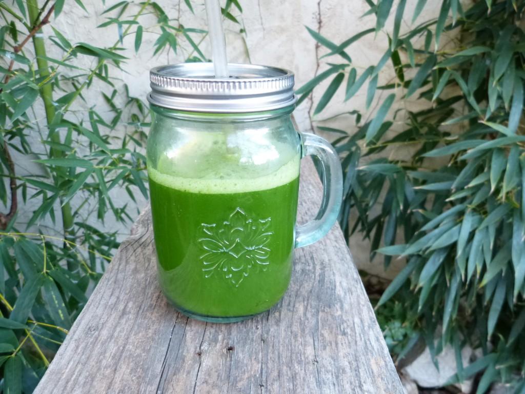 recette jus vert extracteur kale