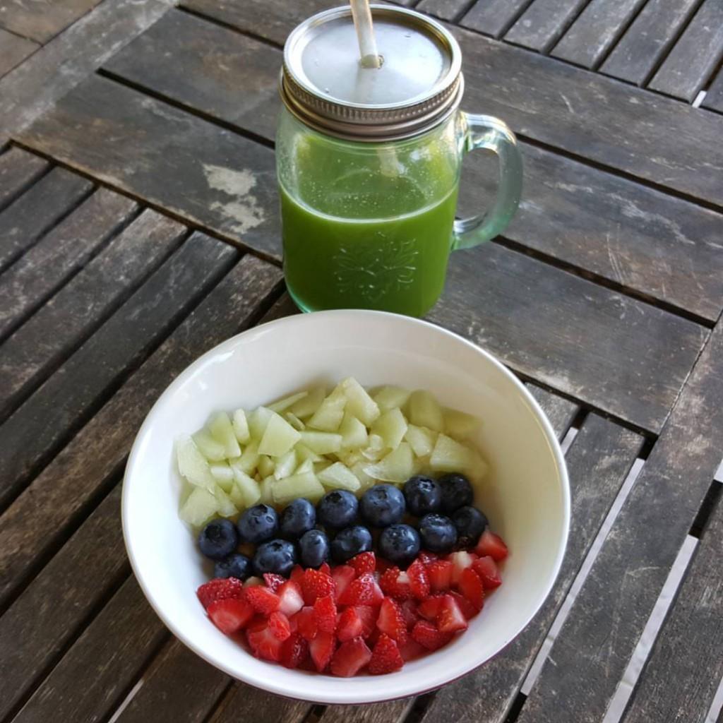 recette jus vert menthe extracteur extrajus