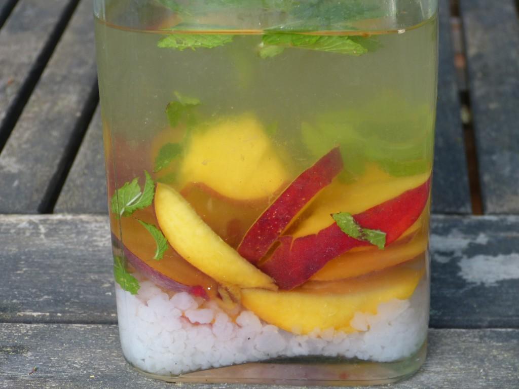 recette kefir nectarines