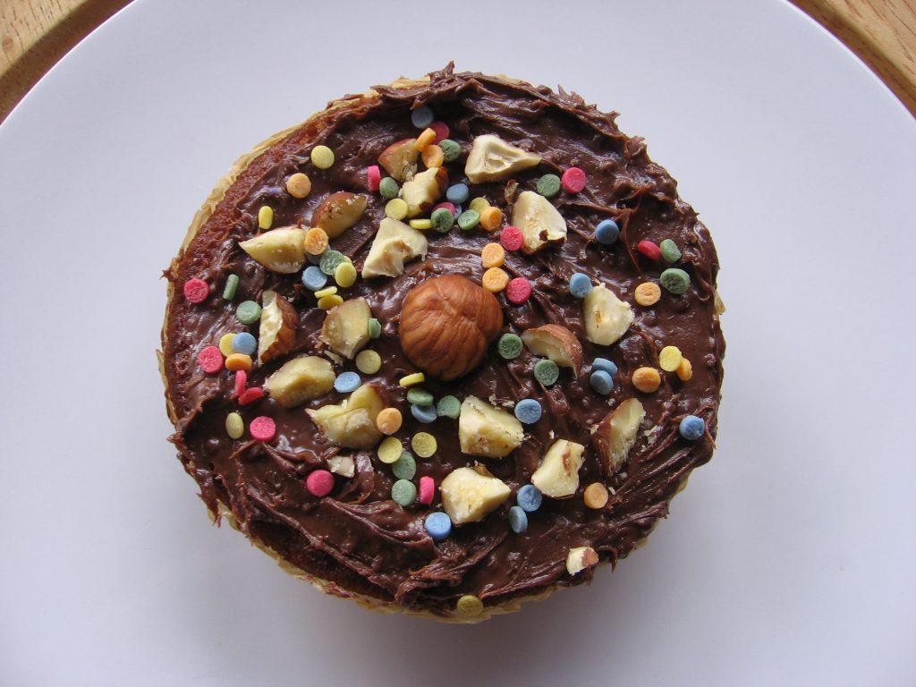 recette muffin chocolat poire