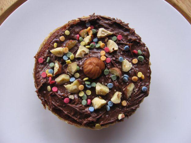 Fondez pour ce muffin chocolat poire