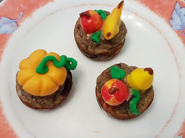Muffins aux pralines roses de Saint-Genix