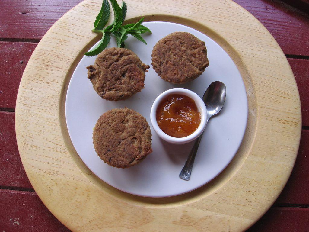 recette muffins pruneaux abricot orange