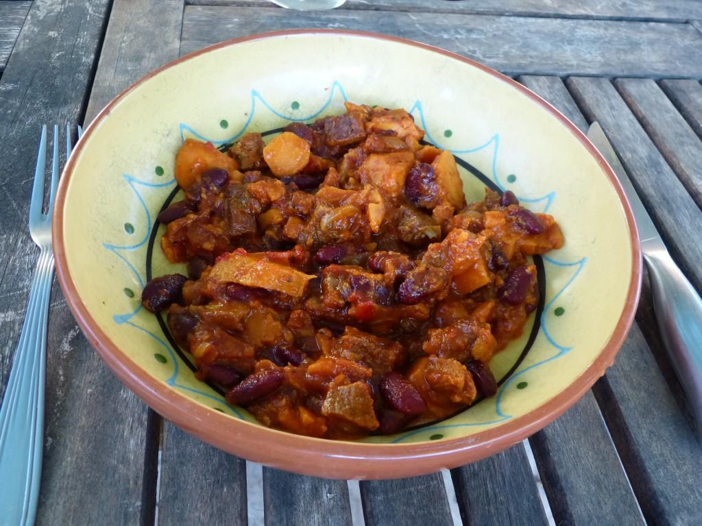recette patates douces chorizo