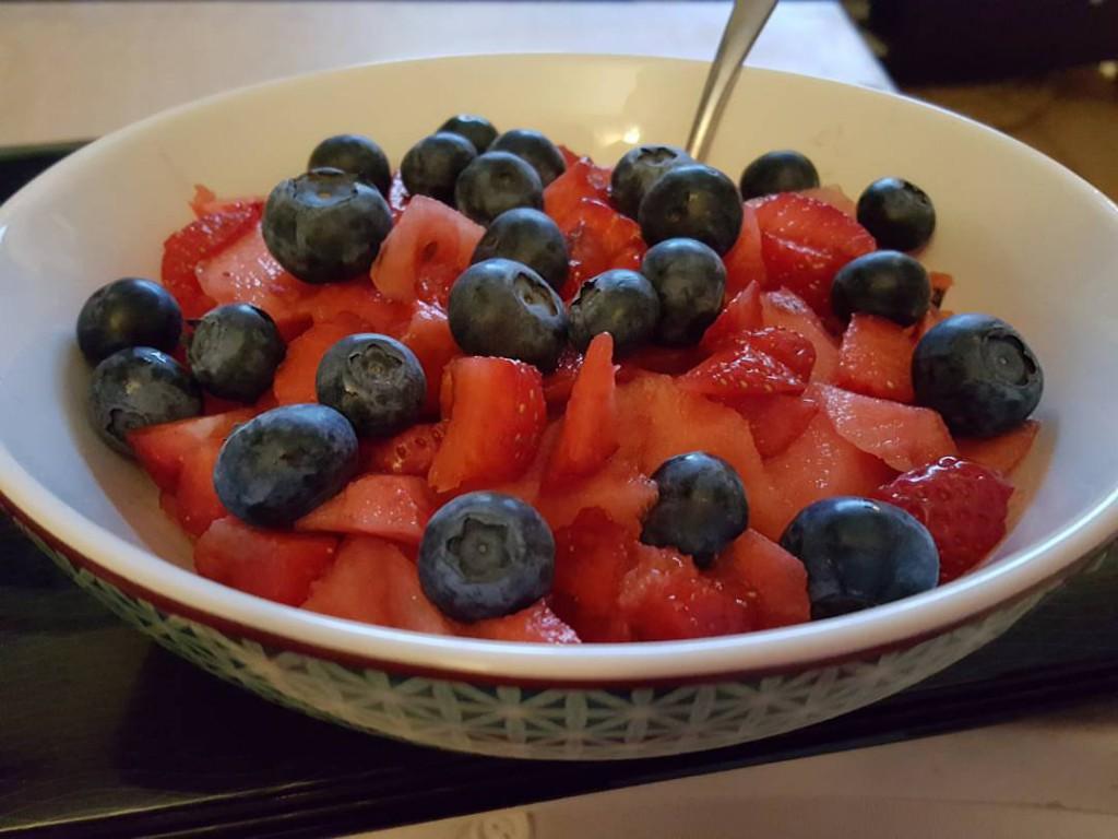 recette petit dejeuner fruits power bowl
