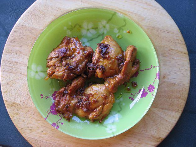 Poulet aux épices barbecue et agrumes