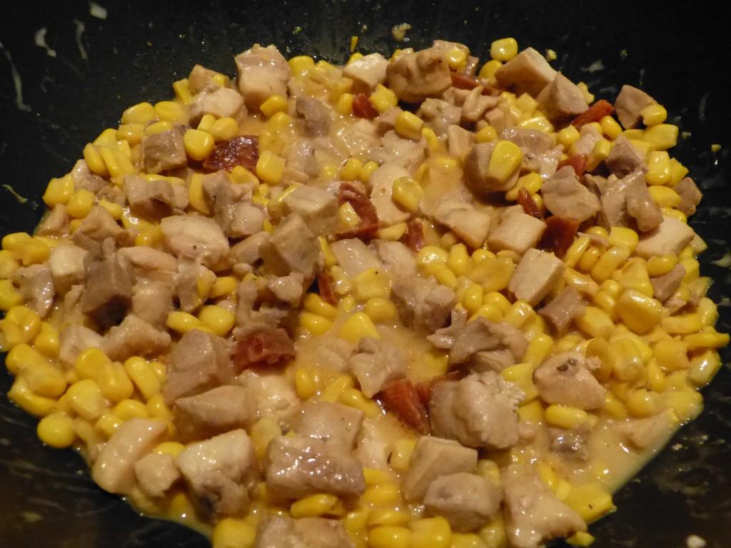 recette poulet mais