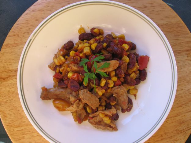 Méli-mélo de poulet à la mexicaine