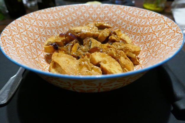 Un plat très parfumé : le poulet au paprika