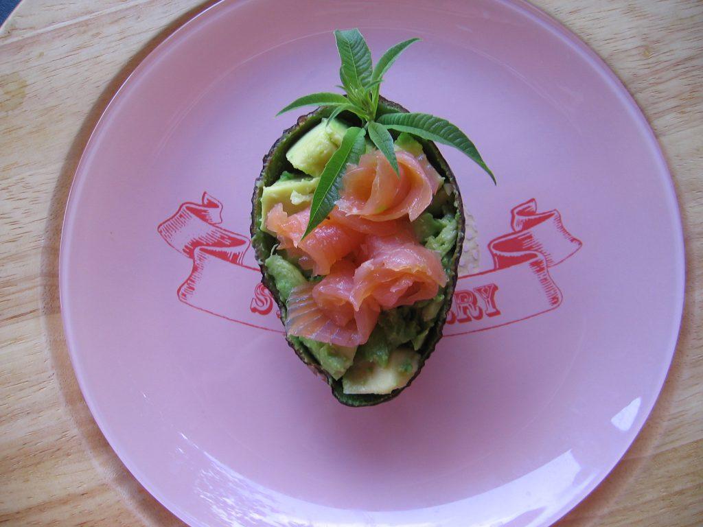 recette rosette avocat saumon