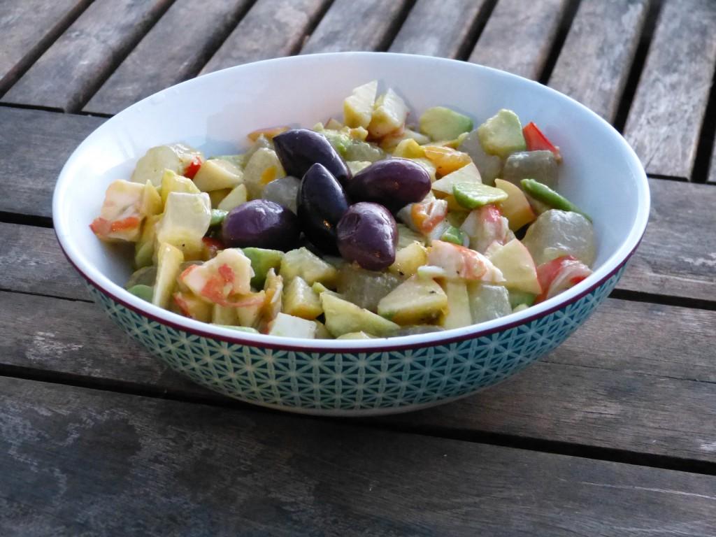 recette salade aloe vera avocat