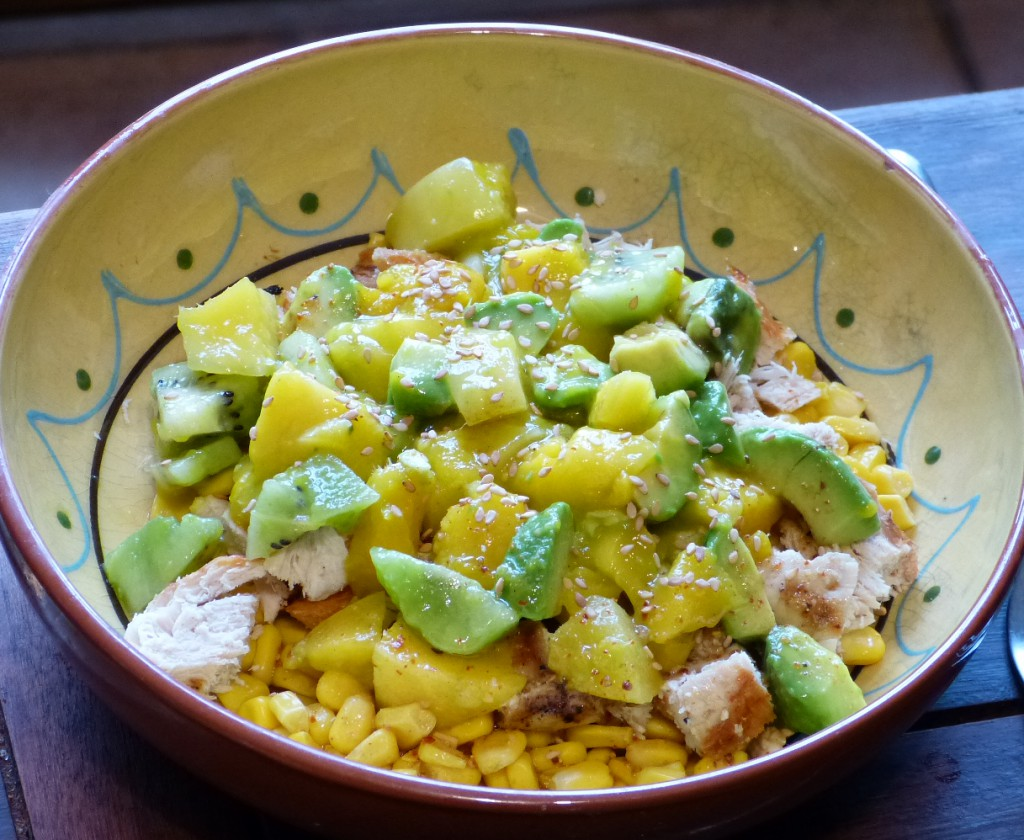 recette salade avocat mangue